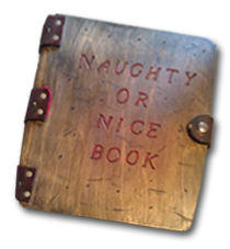 naughty or nice book